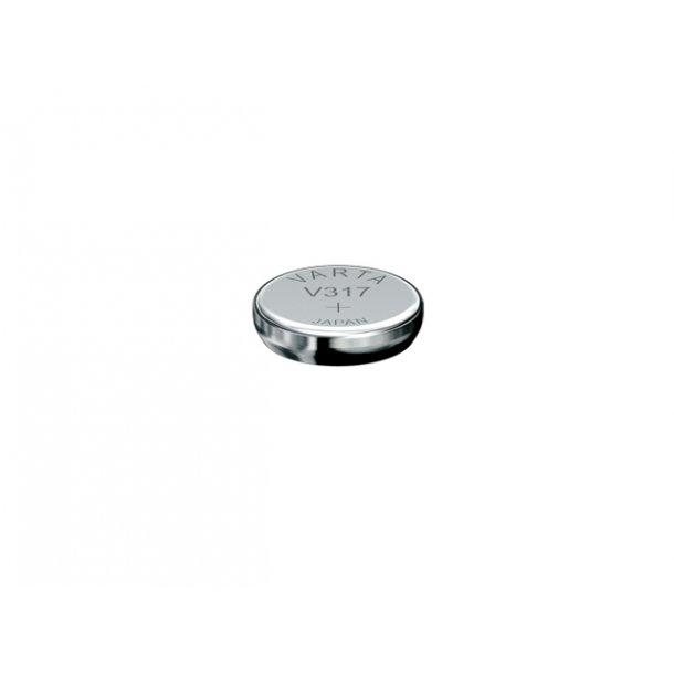 1,55 Volt D 5,8 H1,6 10,5A Varta Sølv batteri
