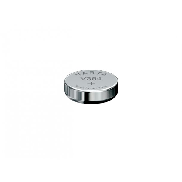1,55 Volt D 6,8 H2,15 20A Varta Sølv batteri