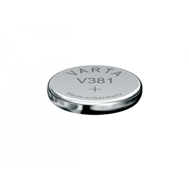 1,55 Volt D11,6 H2,1 45A Varta Sølv batteri