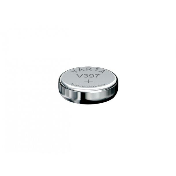 1,55 Volt D 7,9 H2,6 42A Varta Sølv batteri