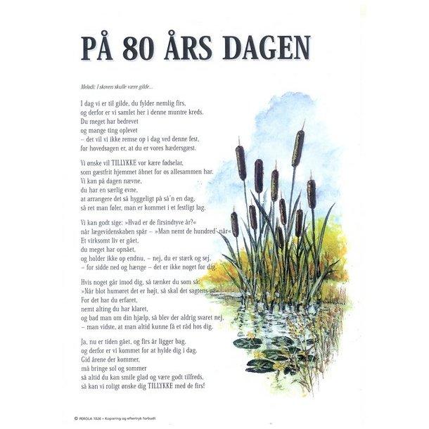 Velkomstsang Til 80 Års Fødselsdag