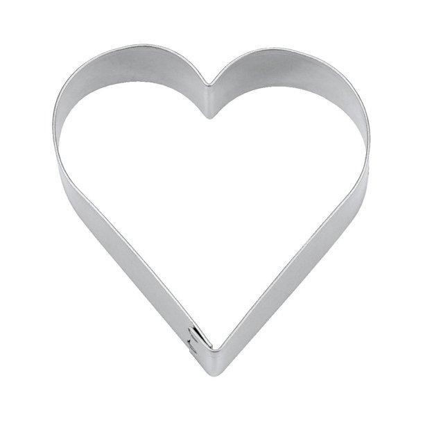 3 cm Kageudstandser - Hjerte