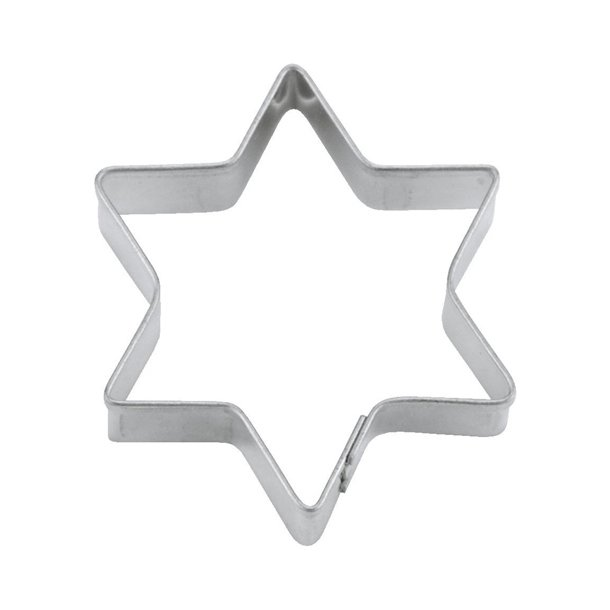 3,5 cm Kage udstikker - Stjerne