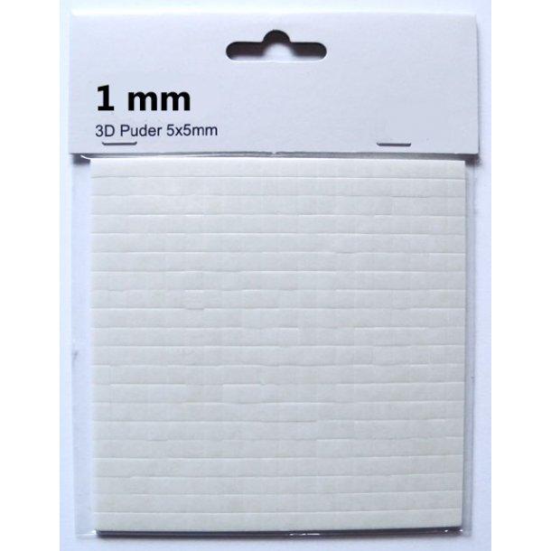 3D Puder - 1 mm
