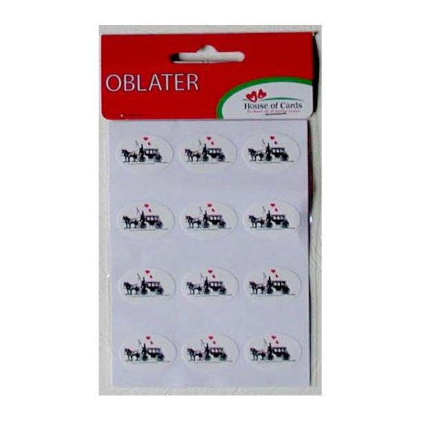 Oblater - Brudekaret