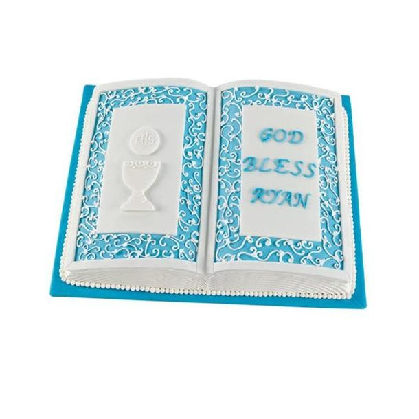 Bag en åben bog/bibel