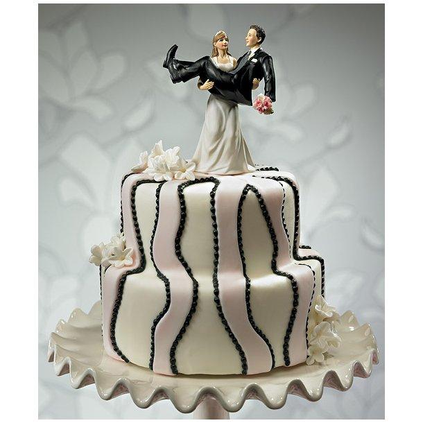 Bryllupskage med flot figur