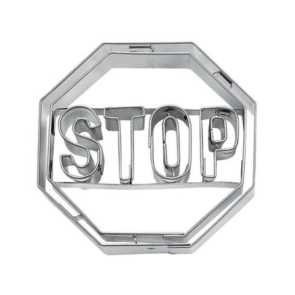 5 cm Kage udstikker - Trafikskilt, stop