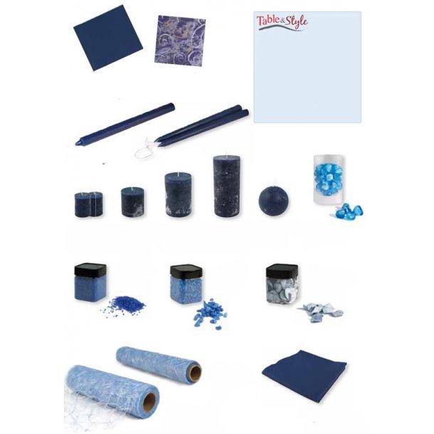 Table & Style - Farve guide - Midnatsblå / Lyseblå
