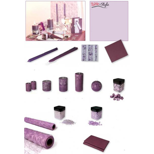 Table & Style - Farve guide - Violet / Lilla