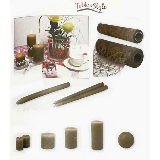 Table & Style - Farve guide - Gråbrun