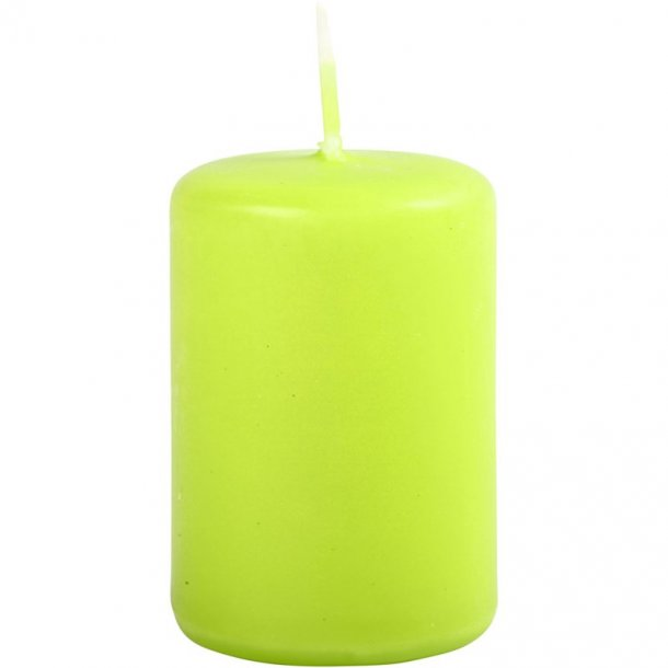 Bloklys - Lime - 12 stk. - 4x5cm