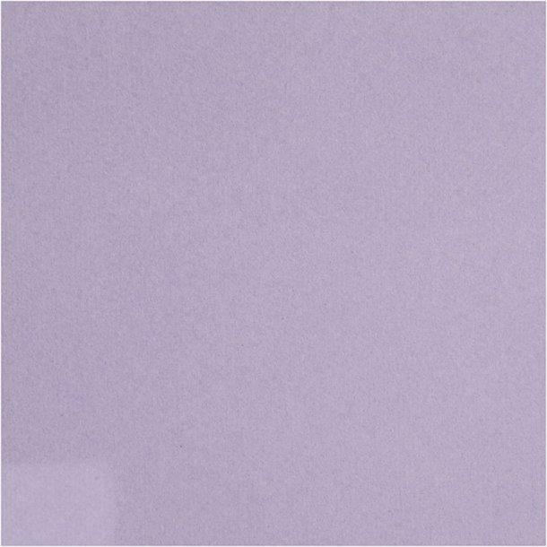 Servietter 40x40cm - stof look - Lys lilla