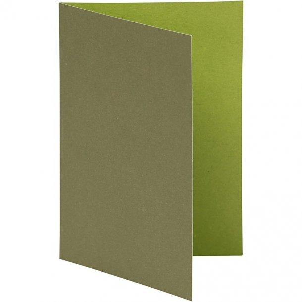 Kort - 10 stk - Lime / mørk grøn