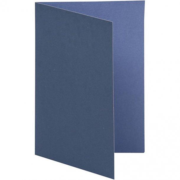 Kort - 10 stk - Mørk blå / lys blå
