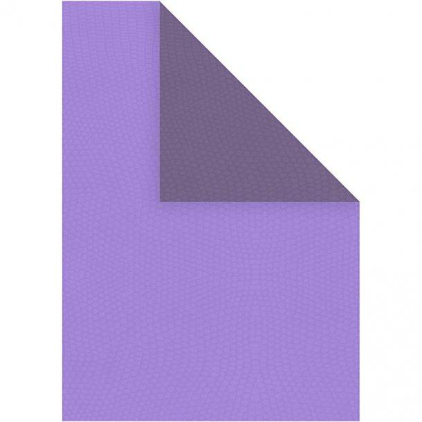 Papir - A4 - 20 stk - Mørk lilla / lilla