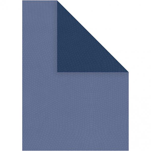 Papir - A4 - 20 stk - Lys blå / mørk blå