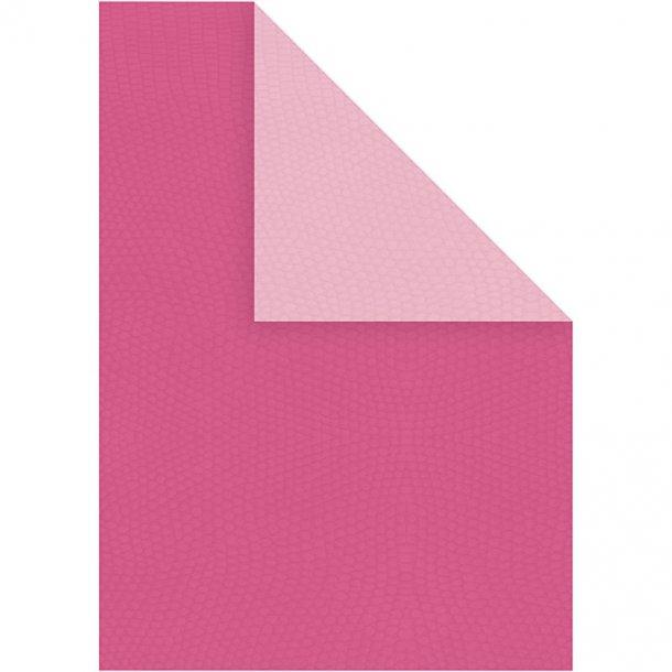 Karton - A4 - 10 stk - Pink / Rosa