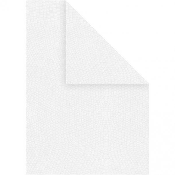 Karton - A4 - 10 stk - Hvid
