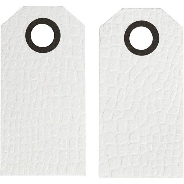 Manillamærker - 20 stk -  Hvid