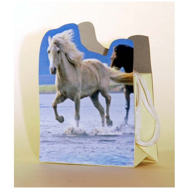 Sangskjuler løbende hest
