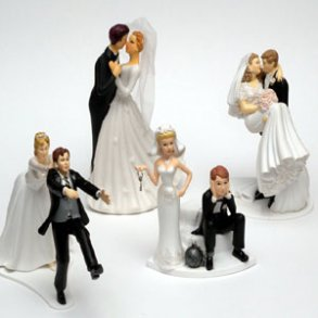 Figurer / kagefigurer til bryllup (alle)