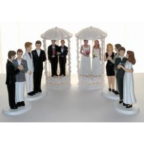 Bryllupsfigurer til bøsser og lesbiske