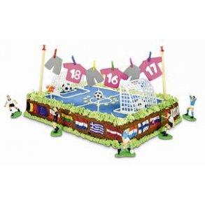 Fodbold tema til fødselsdage